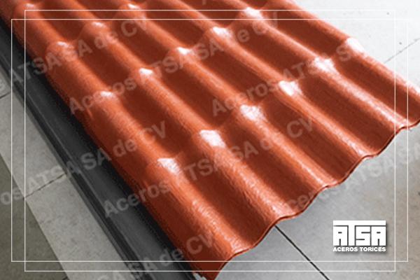 Plastiteja, lámina para techo